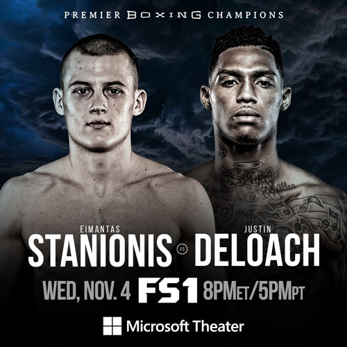 More Info for Eimantas Stanionis vs. Justin DeLoach