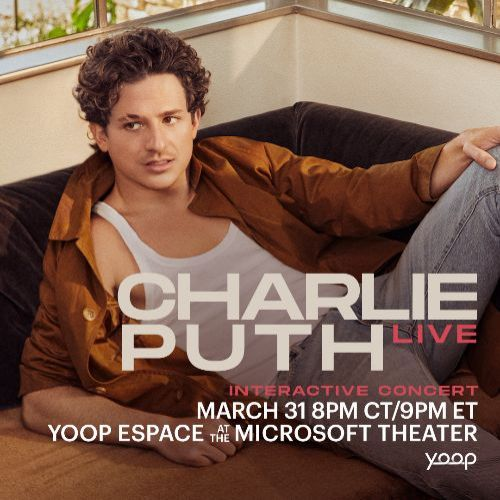 More Info for Charlie Puth Live