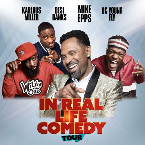 More Info for MIKE EPPS BRINGS ALL-NEW SHOW TO MICROSOFT THEATER IN LOS ANGELES ON OCTOBER 22 WITH COMEDIANS DC YOUNG FLY, KARLOUS MILLER AND DESI BANKS